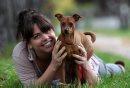 Dog owner ...