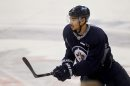 Winnipeg Jet #9,Evander Kane practices with team at MTS Centre Tuesday. Dec 02,  2014 Ruth Bonneville / Winnipeg Free Press