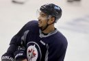Winnipeg Jet #9, Evander Kane practices with team at MTS Centre Tuesday. Dec 02,  2014 Ruth Bonneville / Winnipeg Free Press