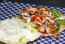 RESTAURANT REST REVIEW - Best Pizza and Donair. Chicken shwarma from the restaurant. BORIS MINKEVICH/WINNIPEG FREE PRESS. JANUARY 19, 2015