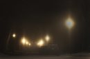 Foggy Morning- Thick fog and ice crystals with -6C temperatures in Winnipeg have caused low visibility -Standup Photo- Jan 27, 2015   (JOE BRYKSA / WINNIPEG FREE PRESS)