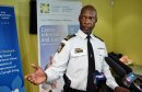 Winnipeg Police Chief Devon Clunis during the announcement that the money raised during this years WPS Half Marathon will go towards Canadian Cancer Society Manitoba and that the money will be matched dollar-for-dollar by Brain Canada, through the Canada Brain Research Fund.  150217 February 17, 2015 Mike Deal / Winnipeg Free Press