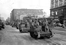 Winnipeg Free Press Archives If day -  Feb 20, 1942 Nazi troops parade down portage ave during mock invasion.  Feb 19/42