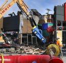 Demolition ...