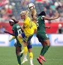 Nigeria's #13, ...