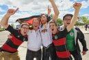 German fans ...