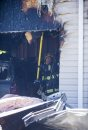 A garage fire ...