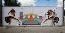 Mural artist ...