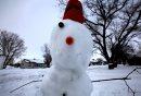 A snowman in ...