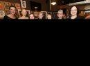 JASON HALSTEAD / WINNIPEG FREE PRESS  L-R: Fort Garry Women's Resource Centre (FGWRC) board members Michelle Yelland, Zoe Richardson, Jen Goldenberg, Joan Jarvis, Lea Currie, Marie Gregorashuk and Brigitte Lazarko at the FGWRC fundraiser at the Park Theatre on April 20, 2017. (See Social Page)