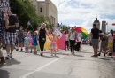 JEN DOERKSEN/WINNIPEG FREE PRESS Thousands of Winnipeggers came out to support the 30th annual Pride Parade. Sunday, June 4, 2017.