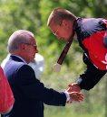 IOC president ...