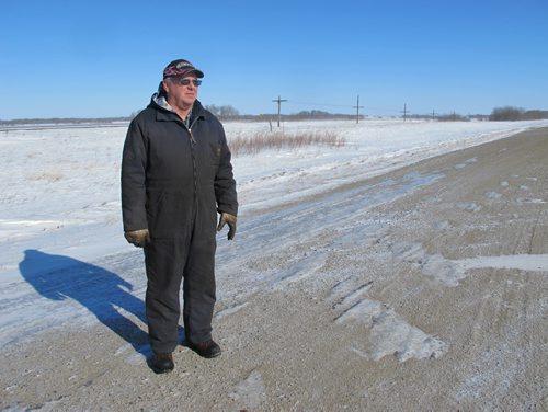 Stan Cochrane, Griswold-area farmer. Photo by Bartley Kives/Winnipeg Free Press March 1 2011.