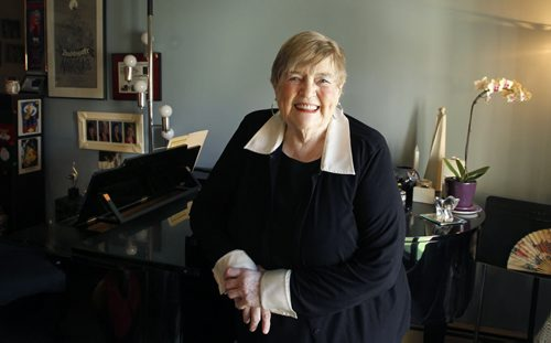 Ent. Helga Anderson who is a very well known choir director in the city. There is a concert paying tribute to her and a scholarship being set up in her honour.   Alison Mayes story.   (WAYNE GLOWACKI/WINNIPEG FREE PRESS) Winnipeg Free Press Dec. 7 2011