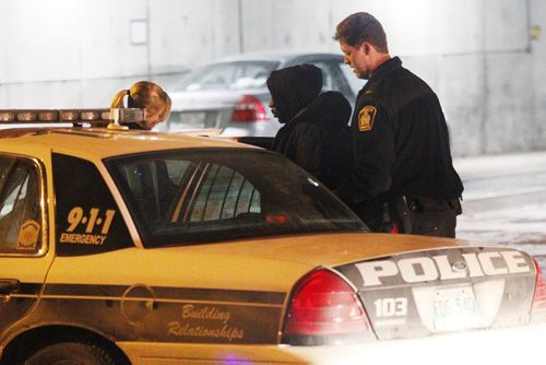January 23, 2012 - 120123  - A male is taken into custody on Carlton Street after a woman was removed from 372 Assiniboine Avenue with reported stab wounds Monday January 17, 2012.    John Woods / Winnipeg Free Press. Alche Fsehaye Kidane, 34, died late Monday of injuries police describe as consistent with being stabbed. Emergency officials rushed to her suite at Palmer House, at 372 Assiniboine Ave., at about 10:10 p.m., Monday after an assault was reported. Kidane was taken by ambulance in critical condition and was declared dead at the hospital. Teklu Tesfamichael Mebrahtu, 32, has been charged with second-degree murder, police said Wednesday.  He has been detained in custody.