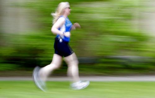 Ramona Turner is a runner in the FP running series by Shamona. June 7, 2012  BORIS MINKEVICH / WINNIPEG FREE PRESS