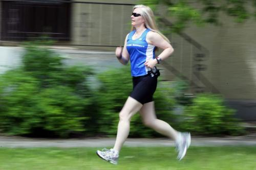 Ramona Turner is a runner in the FP running series by Shamona. June 7, 2012  BORIS MINKEVICH / WINNIPEG FREE PRESS