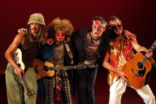 FRINGE FESTIVAL -London UK Records Ltd - The Saints of British Rock.  Barnbary, Rocco Hercules Sumershire, Jib from Broffits, and Nestor. July 17, 2012  BORIS MINKEVICH / WINNIPEG FREE PRESS