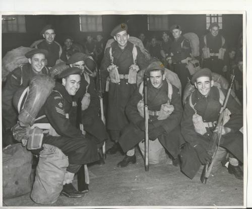 Winnipeg Free Press Archives Wartime Winnipeg (01) Canadian Army Jan. 23, 1945 fparchives