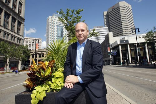 Chamber of Commerce President and CEO Dave Angus is worried about the impact on the city  if there is an NHL lockout -  - Geoff Kirbyson story - KEN GIGLIOTTI  / WINNIPEG FREE PRESS  /  Aug 14 2012