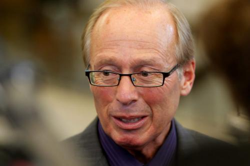 Mayor Sam Katz faces the press at city hall. September 27, 2012  BORIS MINKEVICH / WINNIPEG FREE PRESS