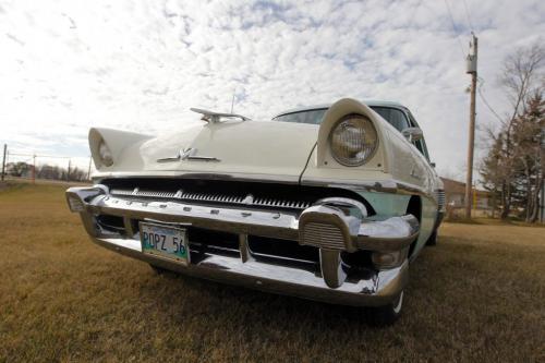 CLASSIC CAR - Don Johnson's 1956 Mercury. October 17, 2012  BORIS MINKEVICH / WINNIPEG FREE PRESS