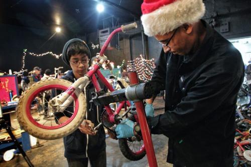 Bike Stores Winnipeg Seth Belmore left