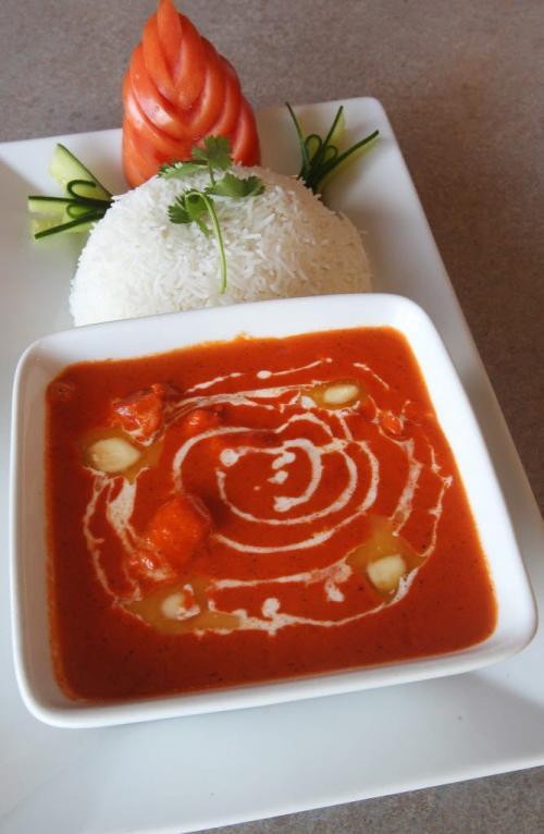 Water Lily East Indian Restaurant- 166 Meadowood Drive- Butter Chicken- See Marion Warhaft review- January 22, 2013   (JOE BRYKSA / WINNIPEG FREE PRESS)