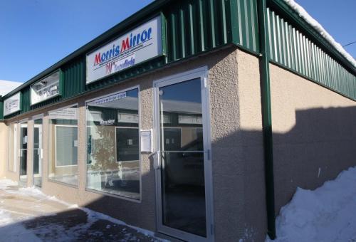 The Morris Mirror office in Morris, Manitoba-See Lindor Reynold's FYI story on the Morris Mirror- January 23, 2013   (JOE BRYKSA / WINNIPEG FREE PRESS)