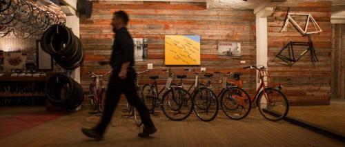 Bike Stores Winnipeg display of bikes for sale