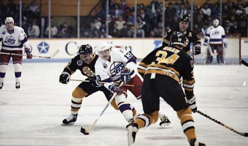 Dec 29, 1992 Jeff De Booy Jets vs Bruins
