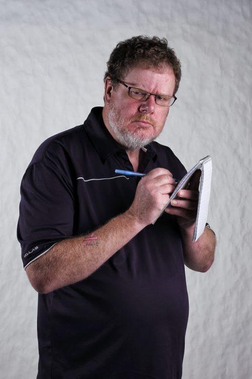 Doug Speirs, humor columnist 130625 June 25, 2013 Mike Deal / Winnipeg Free Press. mug