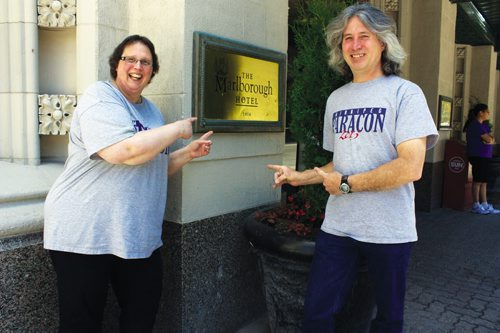 Canstar Community News Sharon and Alphonse Granger are organizing the inaugural Winnipeg Paracon, set to take place from July 12 to 14 at the Ramada Marlborough Hotel. (DAN FALLOON/CANSTAR COMMUNITY NEWS)