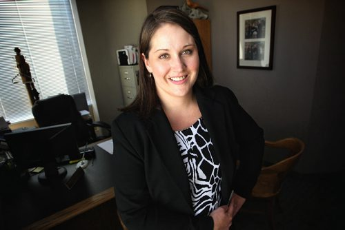 Jillian Taylor-Mancusi, a trustee in bankruptcy, for a story on consumer debt loads and consumer banktrupcties and how some bankruptcy trustees say the consumer debt problem is more serious than a lot of people realize. 130801 August 01, 2013 Mike Deal / Winnipeg Free Press