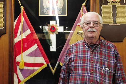 Canstar Community News Nov. 6, 2013 -- William Douglas was the former president of the Royal Canadian Legion at 626 Sargent Ave. The legion was the first branch ever built in Canada.