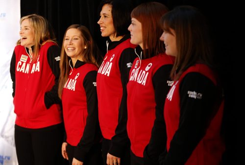 Jones Curling Team Jones Team With Canadian