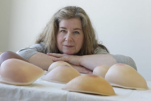 A profile of Wendy Smith an artist and a sculptor who makes lightweight prosthetic breasts for breast cancer survivors.  They have become her favourite body part to re-create because of how they help women deal with losing their breast to cancer.   Shamona Harnett column  Ruth Bonneville Winnipeg Free Press