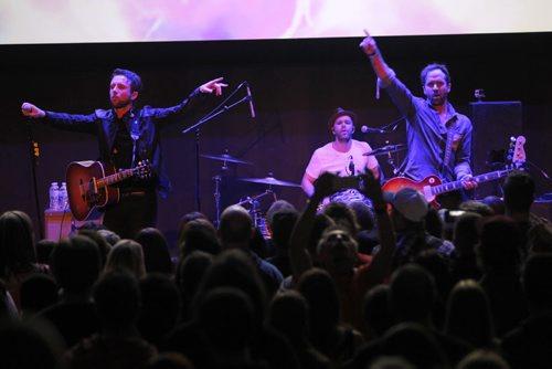 The Trews perform at the Metropolitan Entertainment Centre, Manitoba House. SiriusXM Canada JUNO awards Kick Off.  BORIS MINKEVICH / WINNIPEG FREE PRESS  March 27, 2014