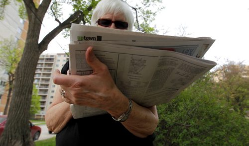 Money Makeover this weekend is about a 71-year-old retired teacher who will start making mandatory withdrawals from her RRIF soon, and she's worried about the tax implications.. BORIS MINKEVICH / WINNIPEG FREE PRESS  May 29, 2014