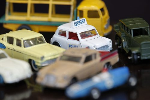 August 12, 2014 - 140812  -   Harold Taylor's Dinky cars in Winnipeg, Tuesday, August 12, 2014.  John Woods / Winnipeg Free Press