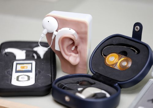 Cochlear implants for pre-lingually profoundly deaf adults ...