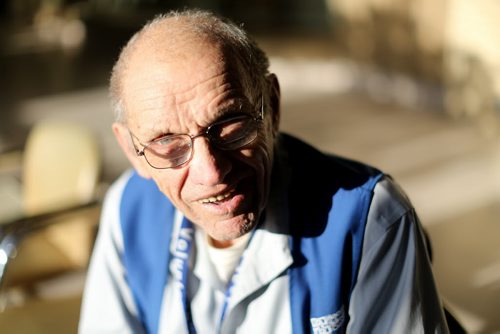 Ed Holowich, a volunteer at the Health Sciences Centre has logged more than 17,200 hours in a variety of capacities, Saturday, January 10, 2015. (TREVOR HAGAN/WINNIPEG FREE PRESS) for volunteer column.