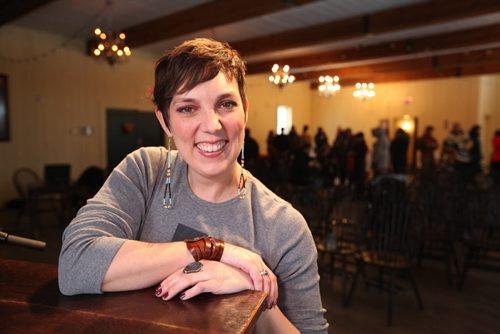 Festival du Voyageur's executive director Ginette Lavack Walters taken at presser Tuesday  at Festival Park.    Jan 13, 2015 Ruth Bonneville / Winnipeg Free Press