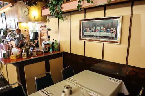 Juliana Pizza at 678 Ellice Avenue. Bill and Marrian Polsom have been running the restaurant for the last 11 years. 150722 - Wednesday, July 22, 2015 -  MIKE DEAL / WINNIPEG FREE PRESS