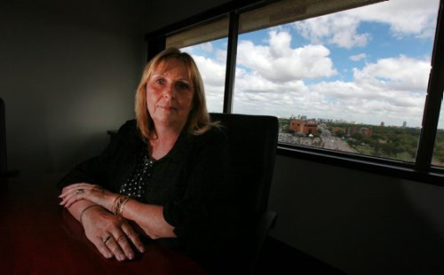 Dr Anna Ziomek, Registrar of the Mb College of Physicians and Surgeons. See Larry Kusch story. July 28, 2015 - (Phil Hossack / Winnipeg Free Press)
