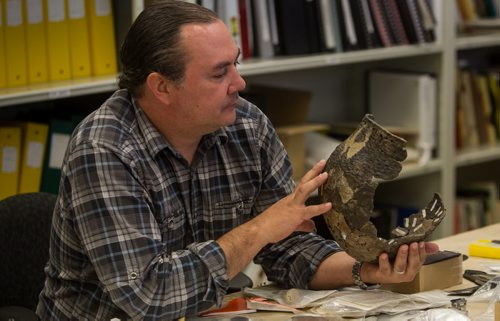 Kevin Brownlee, Curator of Archaeology at The Manitoba Museum