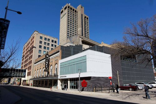 BORIS MINKEVICH / WINNIPEG FREE PRESS The Metropolitan Entertainment Centre by Canad Inns. 281 Donald St.  April 21, 2017