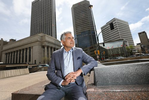 RUTH BONNEVILLE /  WINNIPEG FREE PRESS  Money Matters  Portraits of Hardev Bains is president of Lionridge Capital a local portfolio manager.  discusses the mania over marijuana stock and how the excitement over the fast-growing cannabis industry is a lesson in investor psychology. Hardev Bains is president of Lionridge Capital.   May 17, 2017