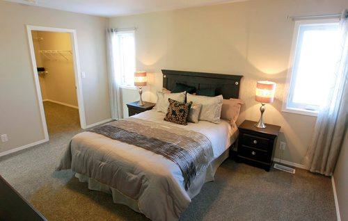 BORIS MINKEVICH / WINNIPEG FREE PRESS NEW HOMES - 139 Castlebury Meadows Drive. Master bedroom. TODD LEWYS STORY  Feb. 12, 2018