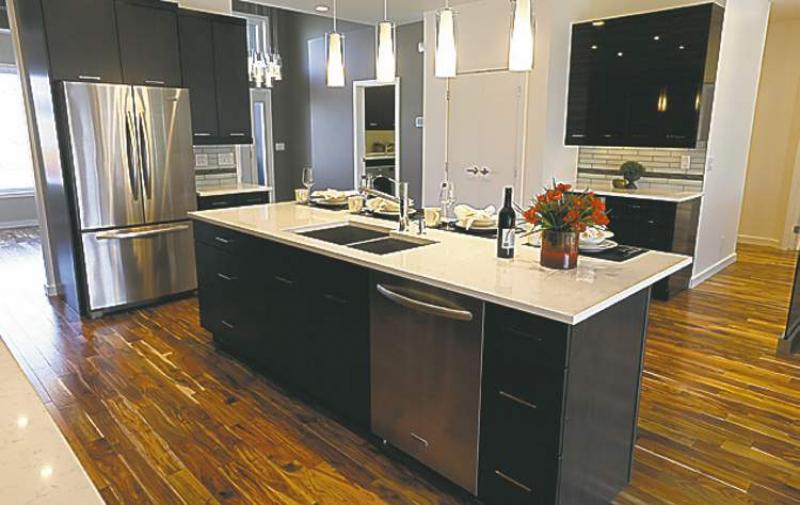 Impeccable finishing touch winnipeg free press homes for Kitchen design 6 x 8